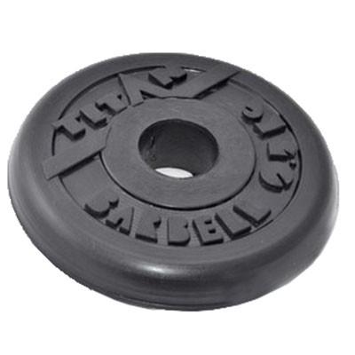 Блин обрезиненный TITAN Barbell 0,75 кг (d26)